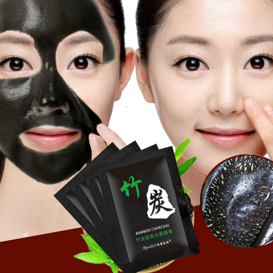 Remove-Facial-Masks Purifying Nud Blackhead Bamboo-Charcoal Deep-Cleansing Peel-Off Hot