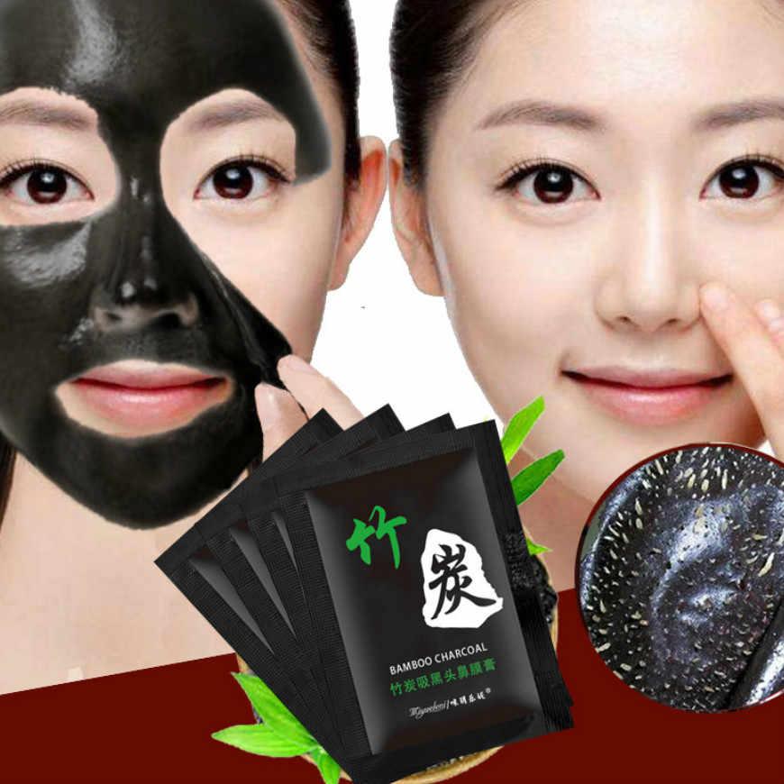 2019 Горячие бамбуковые угли для удаления черных точек лица глубокие маски очищающие отшелушивающие черные Nud Facail маски для лица