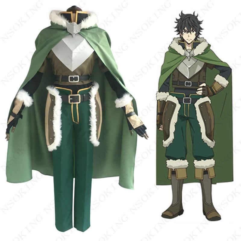 Аниме «Tate no Yuusha no Nariagari The Rising of Shield Hero Naofumi Iwatani» маскарадный костюм на заказ