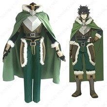 Disfraz de Cosplay de Anime, Tato No Yuusha No ariagari The Rising Of The Shield Hero Naofumi Iwatani, hecho a medida