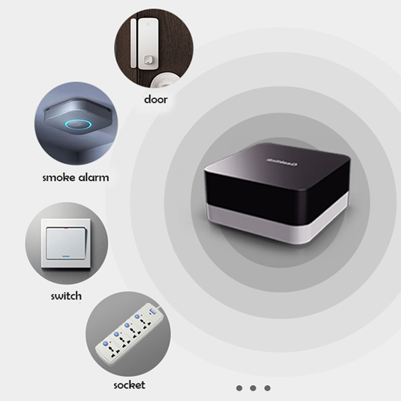 Image 4 - Geeklink GR 1 Extension Intelligent Controller Smart Home Automation Wireless Switch WiFi+RF+IR Remote Control Via IOS AndroidSmart Remote Control   -