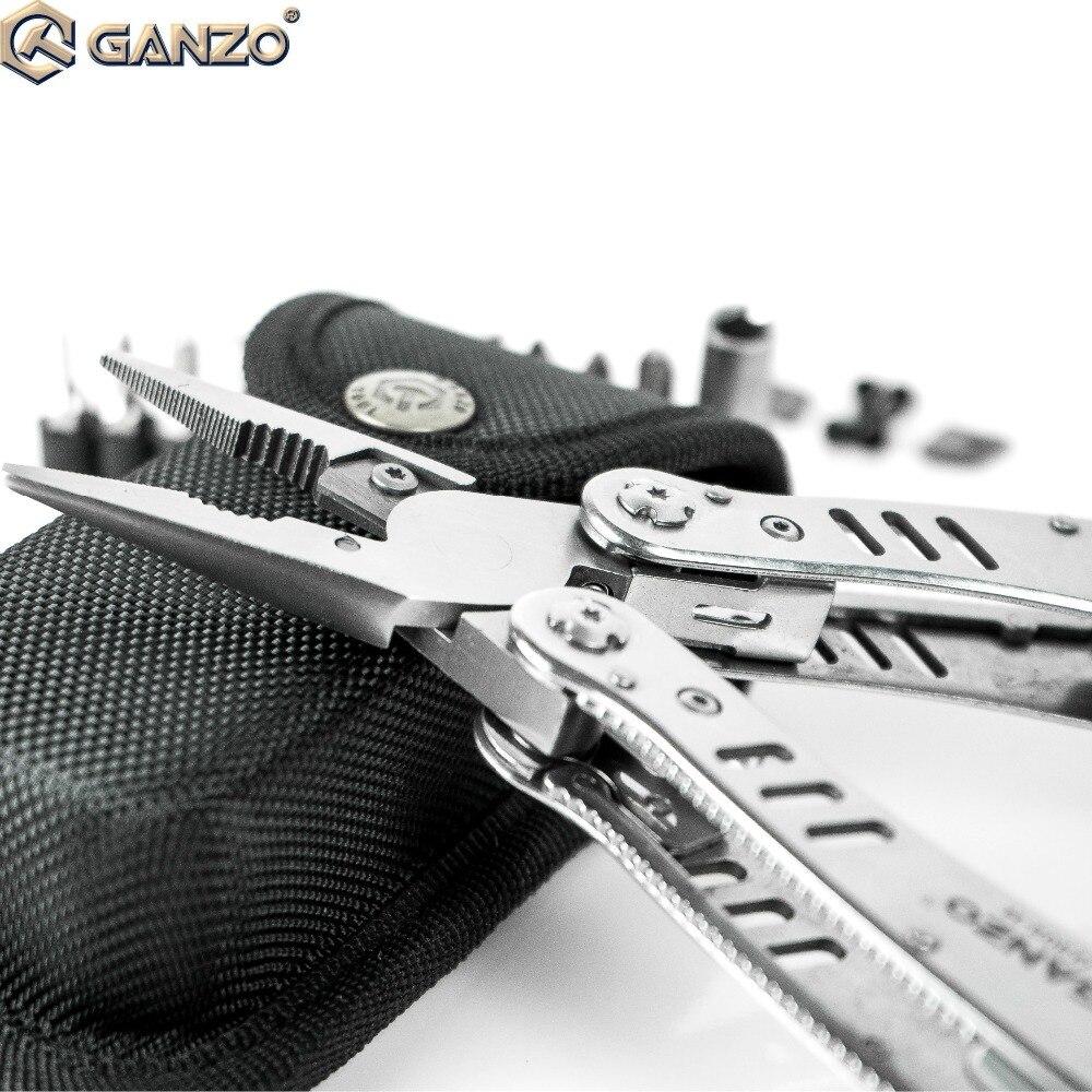 Begeistert 3 Teile/los Ganzo G302h G302-h Motor Multi Zangen Tool Kit Nylon Beutel Kombination Edelstahl Klapp Messer Zangen Für Camping Handwerkzeuge Werkzeuge