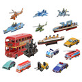 Cubic Fun Paper 3D Puzzle DIY Construction House Ships Military Airplane Truck Bus Car Toy Model 3D Puzzles For Adults Kids Toys