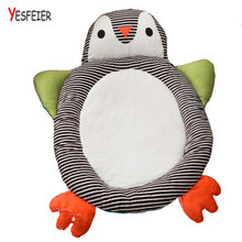 110*145cm Cute Penguin plush toys plush animals doll cushion pillow birthday gift for baby