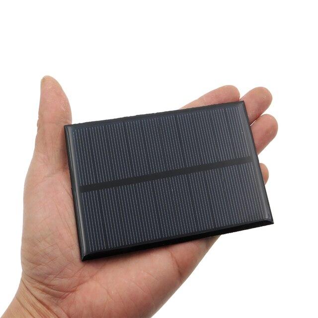 2pcs x 5V 1.25W Solar Panel Portable Mini Sunpower DIY Module Panel System For Solar Lamp Battery Toys Phone Charger Solar Cells