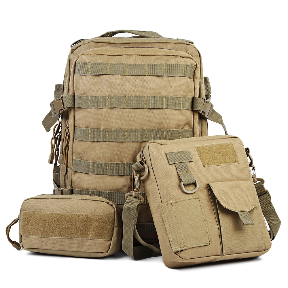 Outdoors Sport Camping Back Pack Military Tactical 30L Waterproof Molle Backpack Durable Travel Bag Equipment Backpack 35l waterproof tactical backpack military multifunction high capacity hike camouflage travel backpack mochila molle system