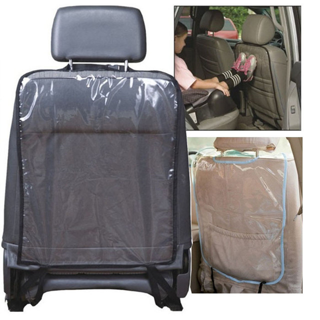 wupp 1pc kids car auto seat back protector cover for children kick mat mud cleaner car
