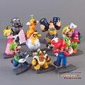 Envío Gratis Super Mario Bros Figura Mario Bowser Peach PVC Figura de Acción de Modelo Juguetes Regalos de Navidad 11 unids/set SMFG227