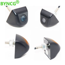 BYNCG Car Rear View Camera Wide Degree Mini Car Parking Reverse Backup Camera Metal body Car Rearview Camera Car Park Monitor
