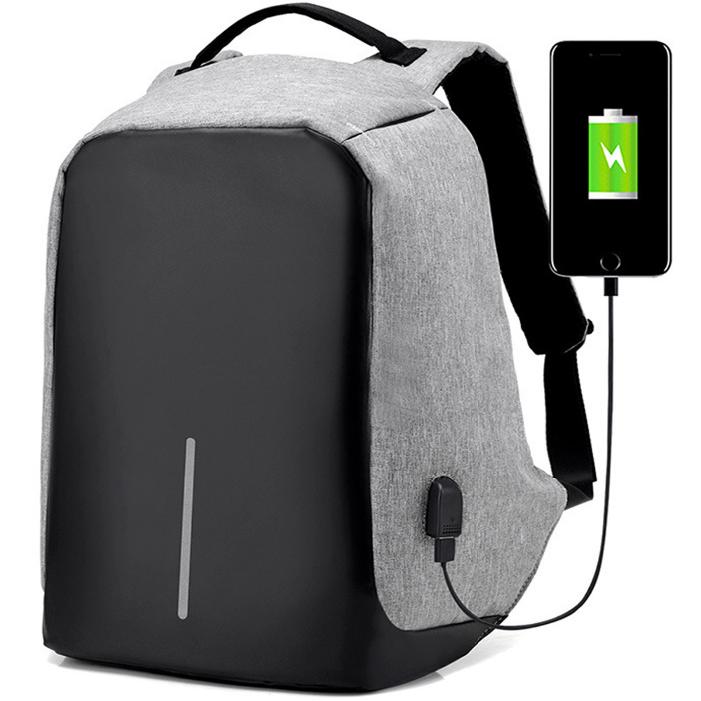 Cartinoe Anti-theft 15.6 inch Laptop Backpack Men Women Backpack External USB Charge Notebook Computer Backpack bag for Macbook