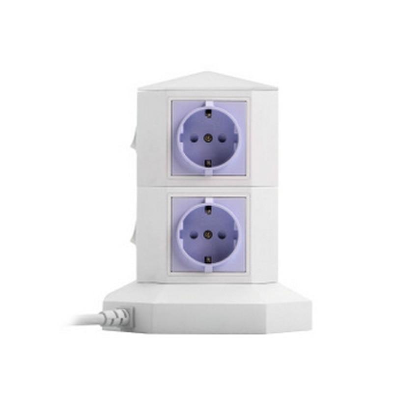 5PCS Fashion new European legislation vertical outdoor garden wiring board lightning tower switch socket парогенератор philips perfectcare aqua pro gc9315
