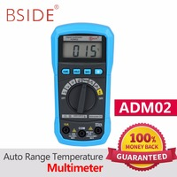 BSIDE Digital Multimeter ADM01 ADM02 Multifunction AC DC Voltage Current Temperature Resistance Capacitance Tester