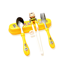 Baby Utensils Learning Chopsticks Infant Tableware Dishes Newborn Training Products