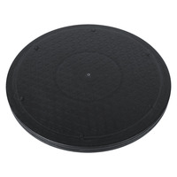 12 Inch Turntable Rotating Turn Table 360 Degree Revolving TV Monitor Swivel Plate For Living Room
