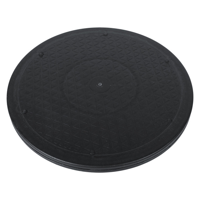 12 Inch Turntable Rotating Turn Table 360 Degree Revolving TV Monitor Swivel Plate for Living Room Home Kitchen