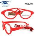 Марка дизайн оправ гибкий безопасный волокно дети очки оправы