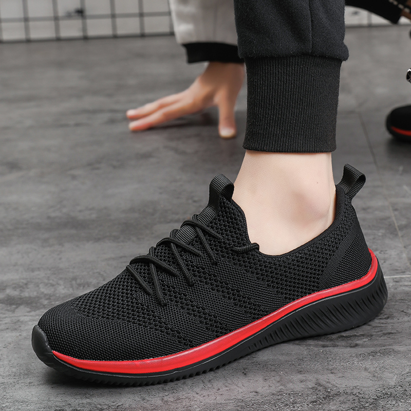 Sport Shoes Men 2019 Brand Running Shoes Breathable Zapatillas Hombre Deportiva Men Footwear Trainer Sneakers Men Red Sox Shoes