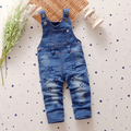 Denim Overalls New High Quality Baby Overalls Fashion Star Infant Clothes 2016 Cute Infant Jumpsuits Baby Clothing Good Quality