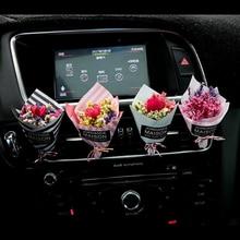 Автомобильный интерьерный освежитель воздуха, креативный вечный цветок, кондиционер на выходе, духи, красивые узоры# LQ1175