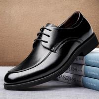 Genuine Leather Oxford Shoes for Men Luxury Mens Dress Shoes Lace Up Formal Shoes Black/Brown Office Wedding Shoes Male Social