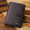 Luxury Genuine Leather Men Wallets Fashion Brand Cowhide Mens Clutch Wallet Man Purses Bifold Multifunctional Male Money Bag
