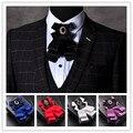 Cavalheiro Gravata Borboleta Formal Dos Homens Gravata Gravata borboleta Masculino Cor Sólida Comercial Arco Casamento Laços