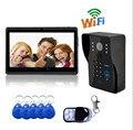 720P Wireless WIFI IP Doorbell With Big LCD Display Mobile Remote Control Video Door Phone