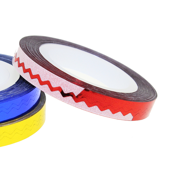 1 Pcs 6 Color 6mm*8m Beauty Rolls Striping Decals For Nails Foil Tips Tape Line DIY Design Nail Art Stickers JH236