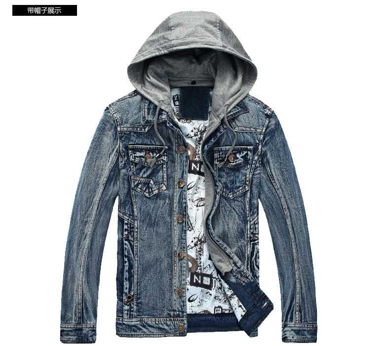 Online Get Cheap 2015 Men Jean Jacket with A Hood -Aliexpress.com ...