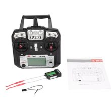 NEW Flysky FS-TM10 FS-i6X 10CH 2.4GHz AFHDS RC Transmitter Radio Model Remote Controller System with FS-IA10B Receiver(China)