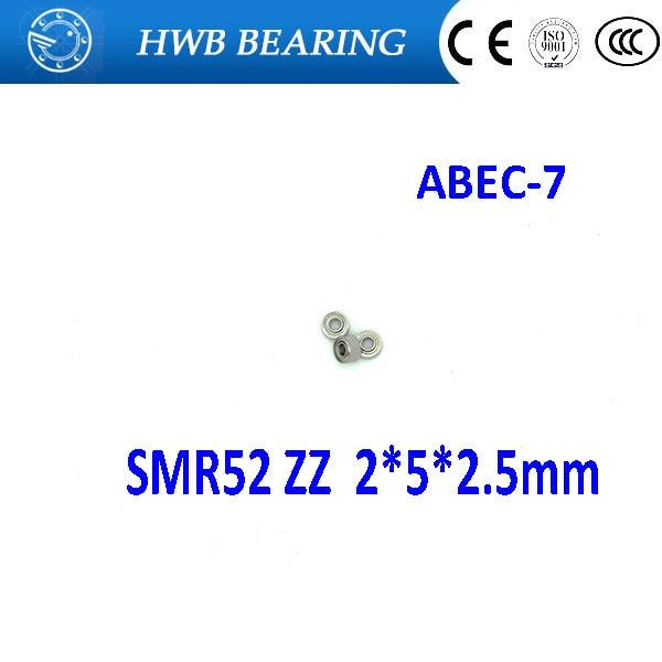 Free Shipping SMR52 ZZ CB ABEC7  2x5x2.5 mm Stainless steel  hybrid ceramic ball bearing 2mm smr52-2z fishing bearing 2*5*2.5mm matrix oil wonders volume rose plumping mousse объем 250 мл