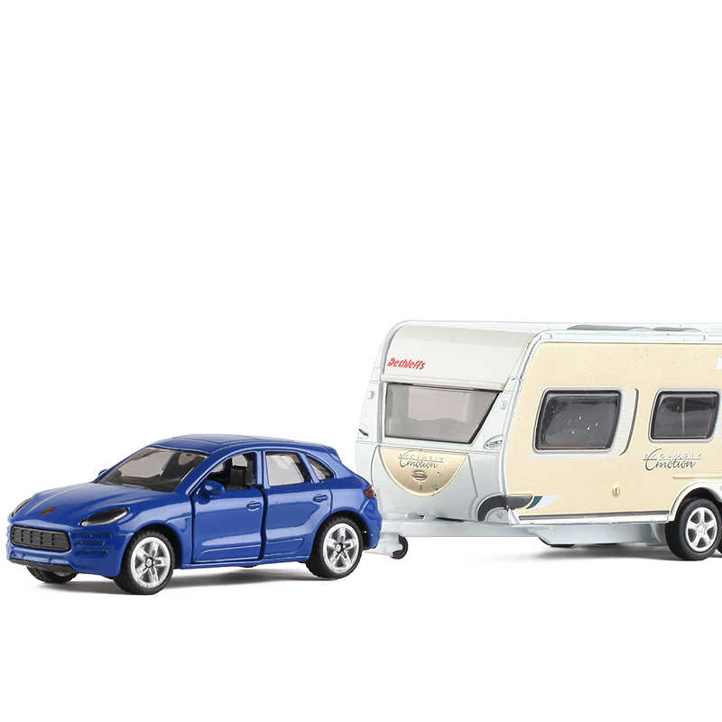 siku 1:64 Manka RV Diecast Alloy car model metallic material Collection model car Children's toy ornaments toy car