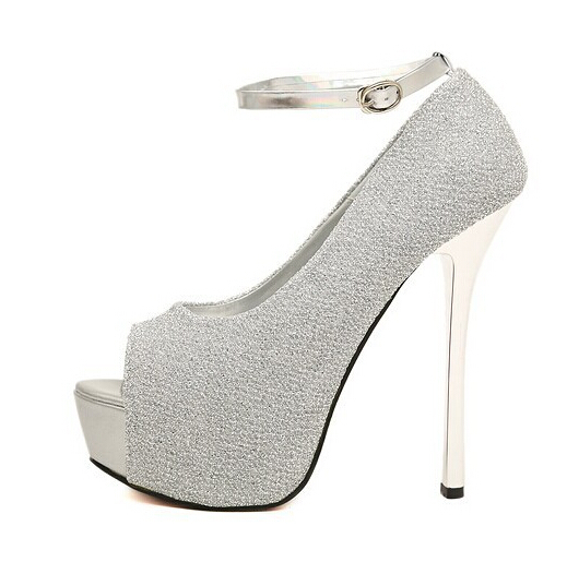 Compare Prices on Gray Silver Heels- Online Shopping/Buy Low Price ...