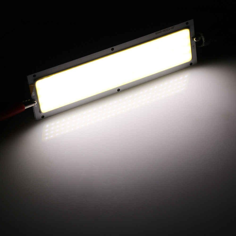 20 w LED חרוזים שבבי DC 12 v 14 v COB רצועת LED מנורת הנורה תאורת מקור כחול חם/ קר/טבעי לבן עבור DIY Led הארה דקור