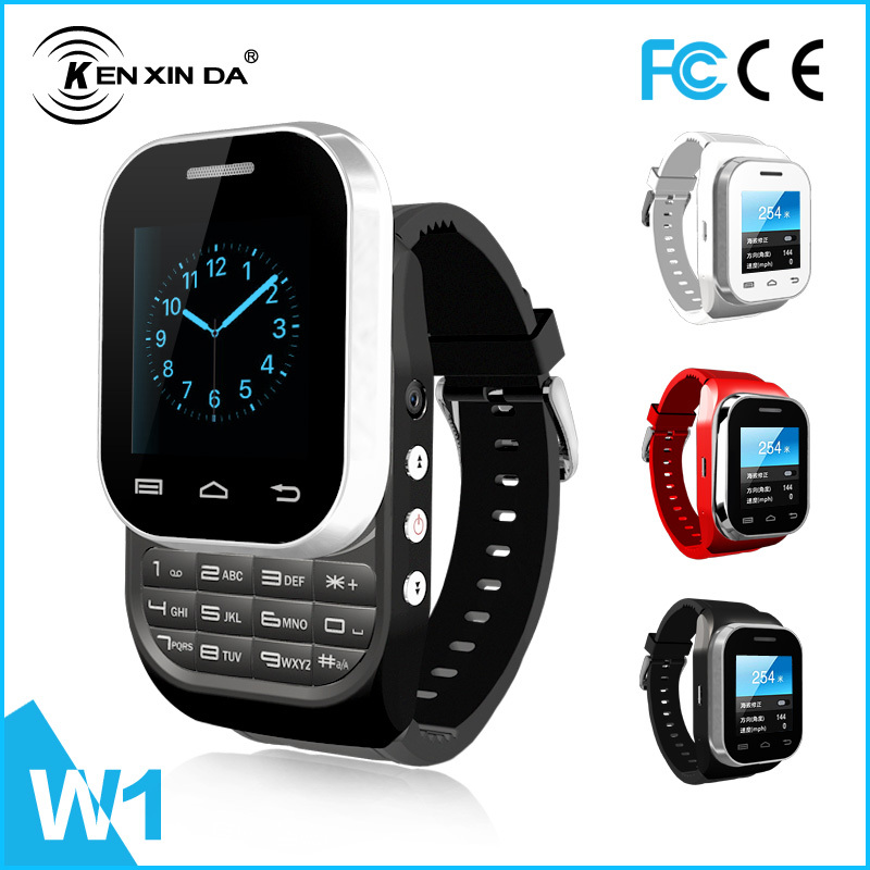 abb857d52d2 Original KEN XIN DA latest wrist watch mobile phone bluetooth V3.0 watch  phone GSM smart phone watch-in Smart Watches from Consumer Electronics on  ...
