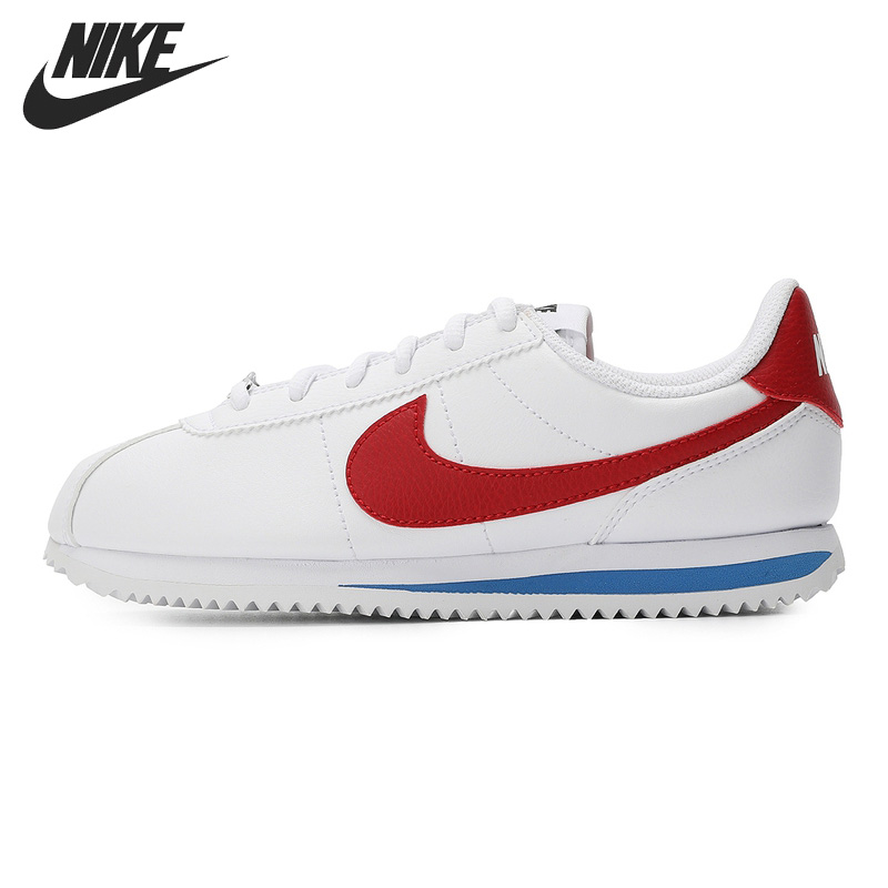 Original New Arrival NIKE CORTEZ BASIC SL (GS) Kids shoes Children Sneakers