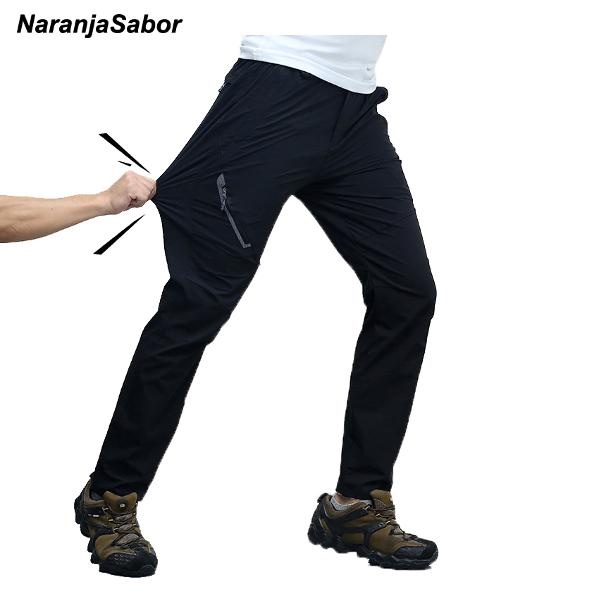 NaranjaSabor 2018 Summer Quick Dry Men's Trousers Casual Mens Pants Breathable Waterproof Army Pants Mens Brand Clothing 7XL 8XL