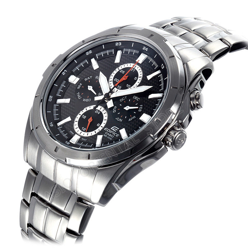 Casio Edifice Watch Quartz Stainless Steel Wrist Relogio Masculino Men S Business 10 Bar Waterproof Ef 328d 1a In Watches From
