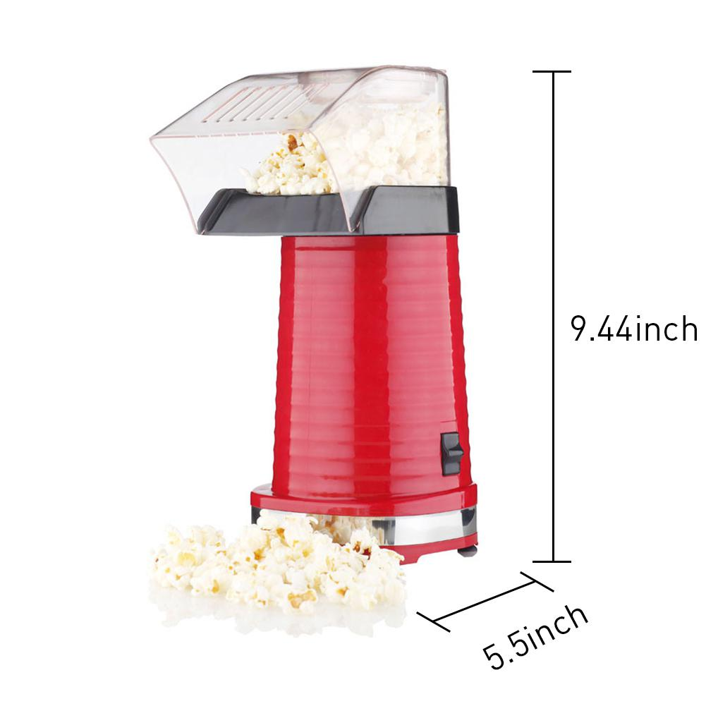 Adoolla Automatic Household Min Electric Popcorn Maker Hot-air Type Popcorn Machine pop 08 commercial electric popcorn machine popcorn maker for coffee shop popcorn making machine