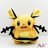 Pokemon XY Plush Toys Dedenne 17cm With Tags New Fashion Cute Cartoon Soft Stuffed Dolls For