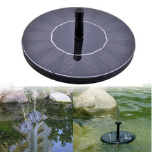 Solar Power Fountain Garden Fountain Solar Water Pump Solar Panels Floating Water Pump Watering Systerm Garden