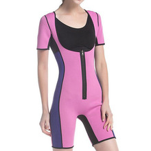 Women Full Body Shaper Tummy Waist Trainer Weight Loss Shapewear Bodysuit Sweat Sauna Suit Butt Lifter Neoprene Slimming Corset