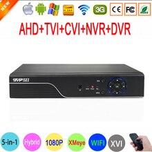 New Xmeye Hi3520D 1080N 8 Channel 8CH Surveillance Video Recorder Hybrid 6 in 1 WIFI XVI NVR TVI CVI AHD CCTV DVR Free Shipping