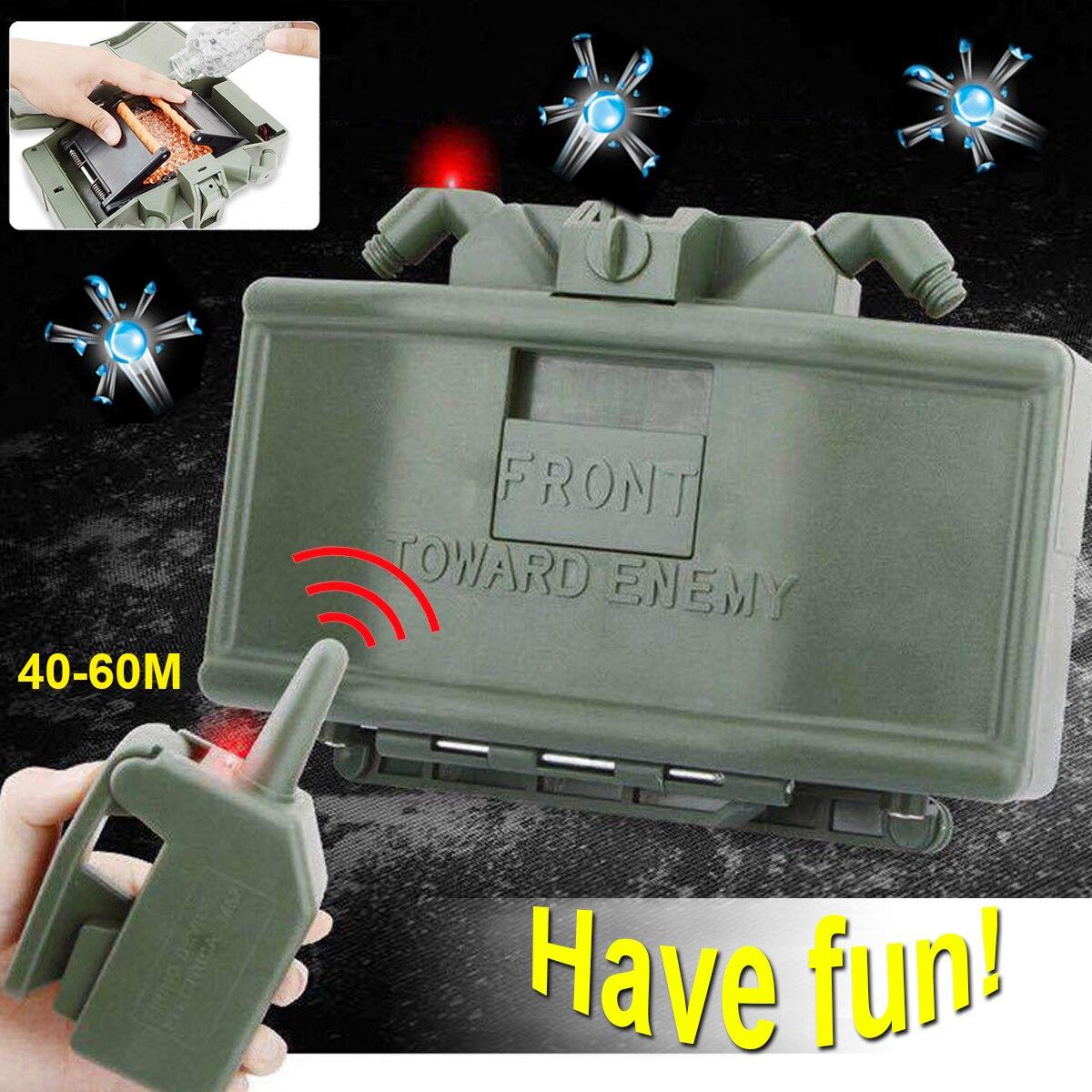 Jouets jouet Gel balles électrique eau perles Clip eau balle balle télécommande bombe extérieure CS tireur