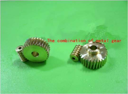 0 5 module Metal gear worm 1 30 high speed motor reduction gear DIY model toy