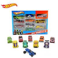 Hot Wheels pista ESS BSC 10-Car Pack 1: 64 Mini Modello di Auto Per Bambini Giocattoli Per I Bambini Diecast Brinquedos Hotwheels Regalo Di Compleanno 54886