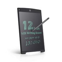 12 Inch LCD Update Multi Function Writing Tablet 3 In 1 Mouse Pad Ruler Drawing Tablet