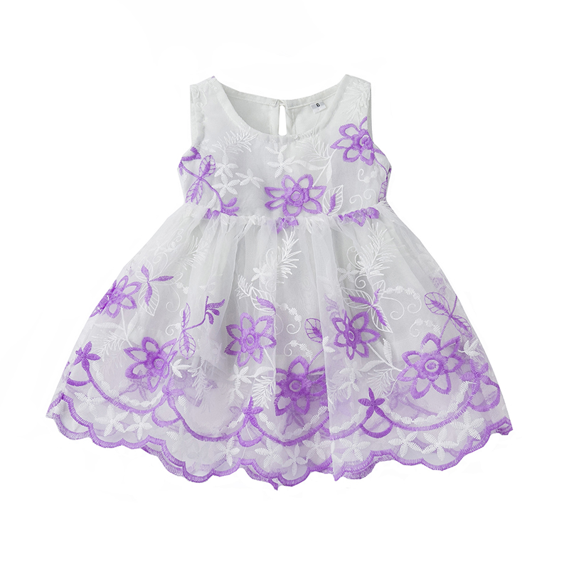 Newborn year birthday kids infant dress girl clothes