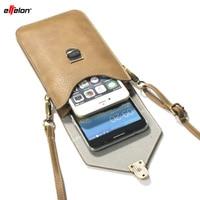 BrankBass 6 3 Universal PU Leather Phone Bag Shoulder Pocket Wallet Pouch Case Neck Strap For