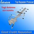 8dbi Antena Yagi 824-960 MHz 3G850MHz GSM900MHz Repetidor de Señal Booster Amplificador de Antena Externa para Los Teléfonos Móviles de Uso Al Aire Libre